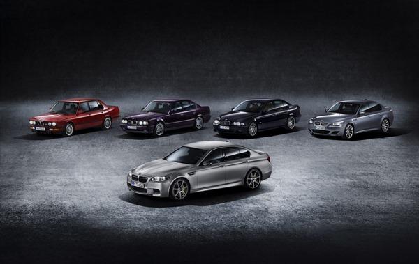 Historia BMW M5