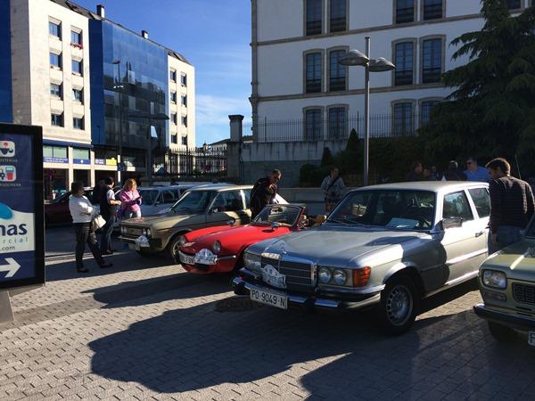 Salida XI Rali Cidade de Lugo 2