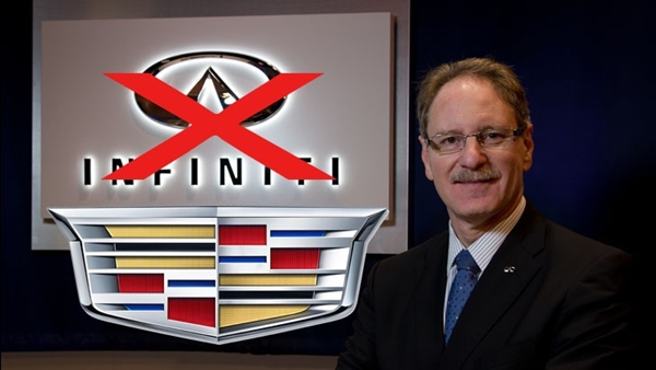 CEO Infiniti Johan de Nysschen
