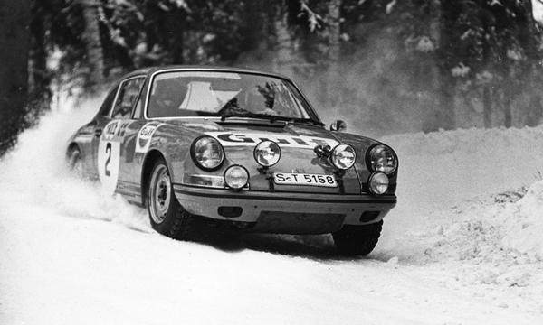 Porsche Bjorn Waldegard