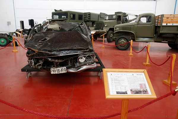 Museo coche atentado carrero blanco - 11