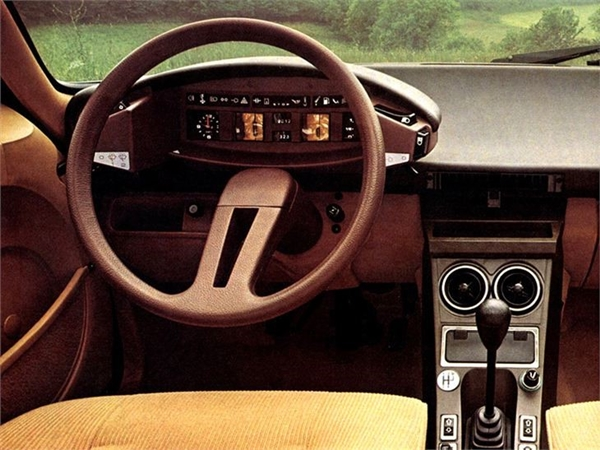 Interior Citroën CX