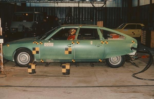 Seguridad en el Citroën CX