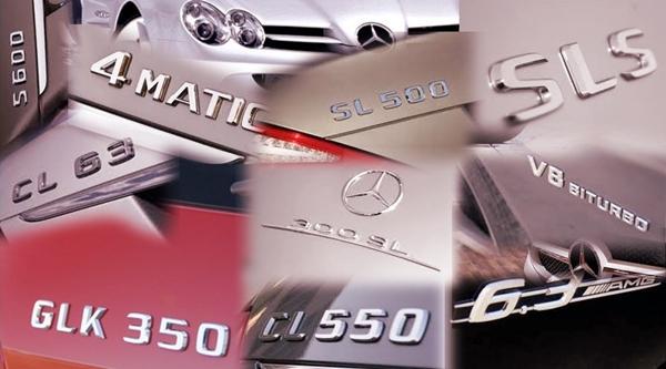 Mercedes cambia el nombre de sus modelos