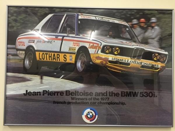 Jean Pierre Beltoise BMW
