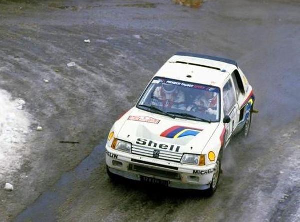 Peugeot Timo Salonen Montecarlo