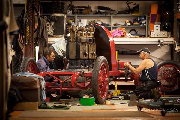 Reconstrucción Fiat S76