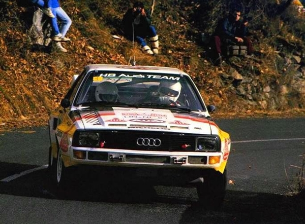 Walter Rohrol Rallye de Montecarlo