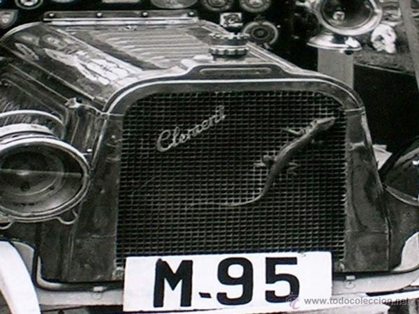 Clement de 1903 matrícula M-95