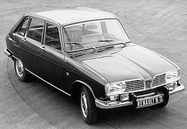 50 años del Renault 16