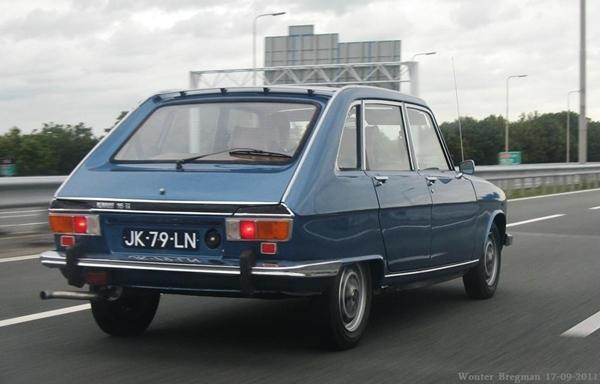 Renault 16 tx trasera
