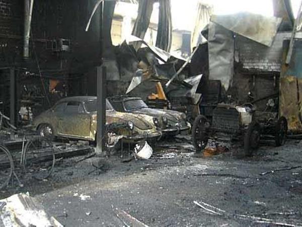 incendio concesionario raffay coches