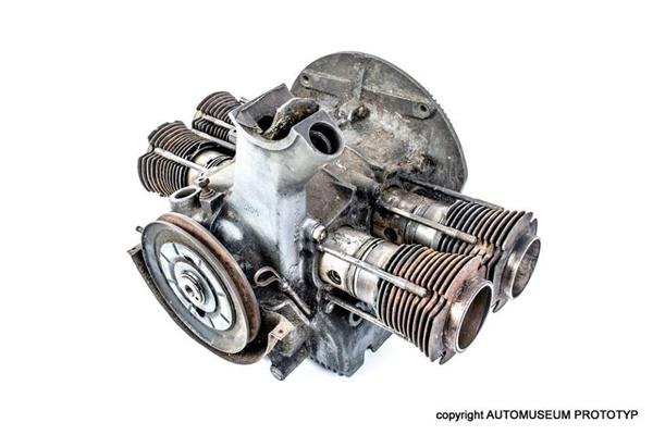 El motor de 1.939 que tiene guardado el museo